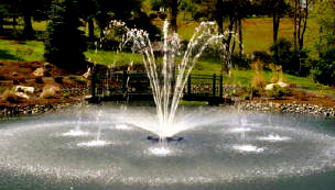 Otterbine Constellation Floating Fountain