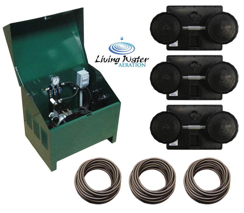 Airpro Deluxe Pond Aerator Kit Up To 3 Acre Ponds