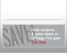 Save on Chicago Fire gear!