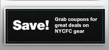 Save on New York City FC gear!