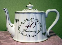 40th Anniversary Royal Teapot