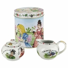 Alice in Wonderland Creamer & Sugar Set
