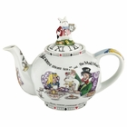 Alice in Wonderland Teapot - 2 Cup
