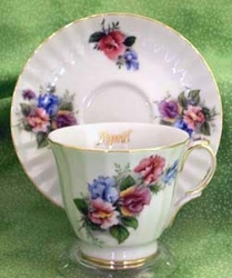 """April"" Teacup of the Month"