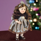 "Artista ""Christmas Memories"" Doll by Lenox"