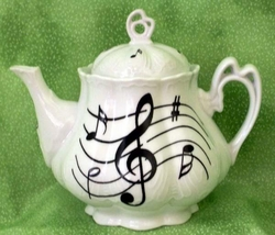 Ashley Musical Porcelain Teapot