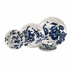 Austin Floral Indigo 5-Piece Place Setting by Reed & Barton