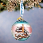 "G. Debrekht ""Harbor Light""  Ornament for Lenox"
