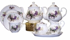 Berta Hedstrom - Heirloom Honeysuckle Tea Set