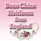 Bone China Heirloom from England
