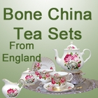 Berta Hedstrom Bone China Tea Sets from England