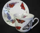 Butterfly Garden Breakfast Cups - Set of 2