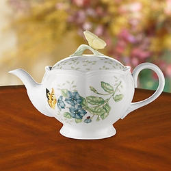 Butterfly Meadows Teapot by Lenox
