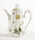 Butterfly Tall Teapot