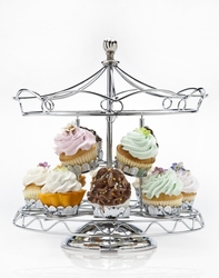 Carousel Cupcake Holder by Godinger