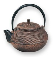 Cast Iron Teapot Strength Copper -