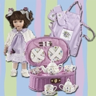 Children's Tea Party Set - Purple