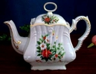 Fielder Keepsakes - Christmas Candle Square Teapot