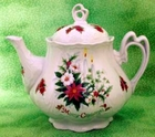 Fielder Keepsakes Christmas Candle Teapot - 6 Cup