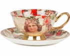 Christmas Cherub Cup and Saucer - 2 Sets