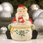Christmas Santa Candy Jar by Lenox