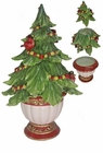 Christmas Tree Cookie Jar by Kaldun & Bogle