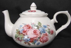 Claudia Bone China Teapot from England