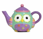 Clown Wize Owl Teapot