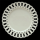 Cream Ware Open Work - Dessert Plates - Set of 4