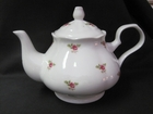 Dot Rose Tulip Teapot - 6 cups