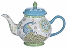 Dutch Arcadia Peacock Teapot