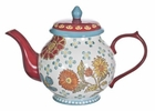 Dutch Daisy Floral Teapot