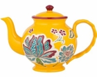 Dutch Gold Teal Teapot