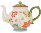 Dutch Hawaii Floral Teapot