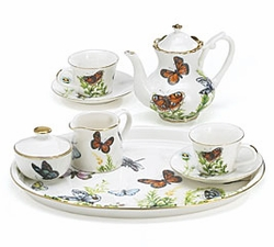 Ella's Butterflies Children's Mini Tea Set