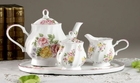 Emily's  Rose Porcelain Tea Set