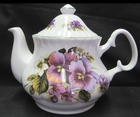 Empire Pansy Bone China Teapot