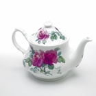 English Rose Fine Bone China Teapot by Roy Kirkham