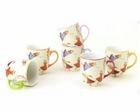 Yedi Dancing Fairies Mugs - Set of 6