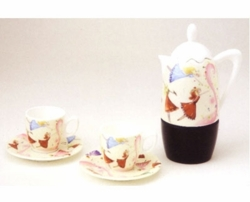 Fairy Teapot  Set - Set for 2