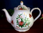 Fielder Keepsakes - Christmas Candle Teapot - 6 Cup