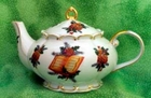 "Fielder Keepsakes ""Christmas Music"" Teapot"