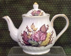 Fielder Keepsakes - Leaves Tall Teapot