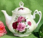 Fielder Keepsakes Summer Rose Ashley Teapot
