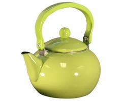 Harvest: Lime Tea Kettle