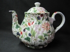 Hedgerow Chintz Teapot -  6 Cup
