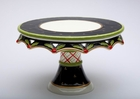 Holly Pedestal Serving Plate