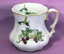 Hummingbird Victorian Mug - Set of 2