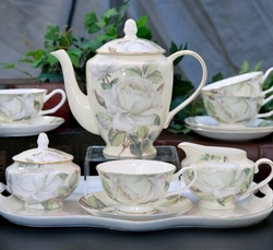 Iceberg Bone China Tea Set -  11 Piece Set