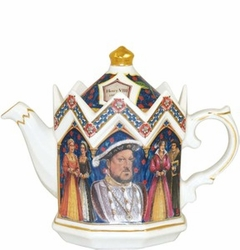 King Henry VIII Teapot from James Sadler